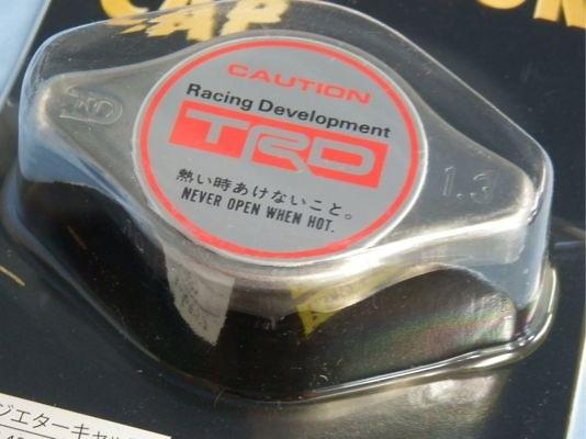 TRD - Radiator Cap  Toyota N Type (New Type) Relief press