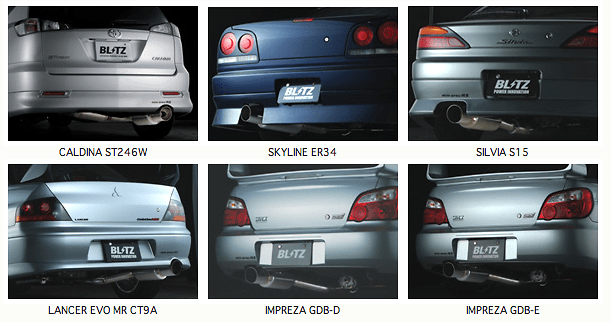 Blitz - NUR - Spec RX - Exhaust System