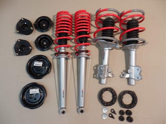 Non-adjustable - Front Spring: 4.5kg/mm - Rear Spring: 5.5kg/mm - 53110-RSS55