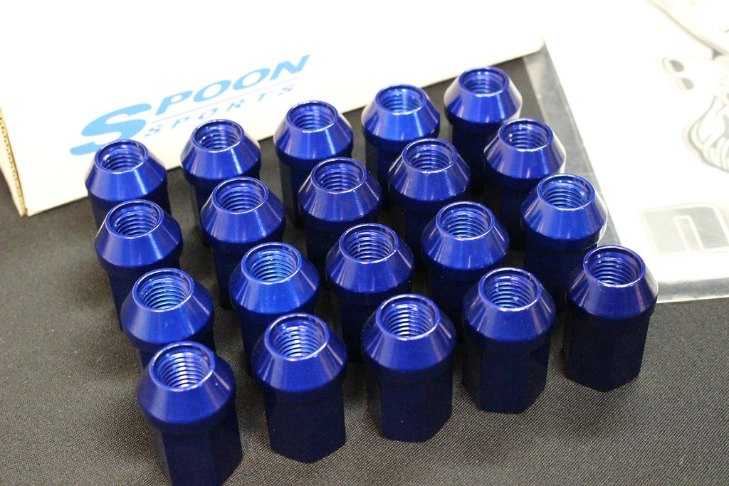 Set of 20 - Colour: Blue - Thread: M12x1.5 - ALL-90304-000-20SET