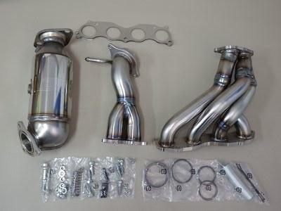 18100-XLR-K0S0 - Honda - Civic Type R Euro - FN2 - 4-2-1 Design + Catalyzer