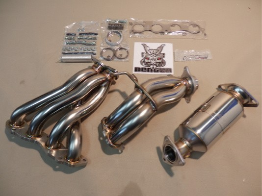 18100-XK5-K0S0 - Honda - Civic Type-R EP3 - Integra Type R DC5 - inc. Catalytic Conveter - 45-50.8-6