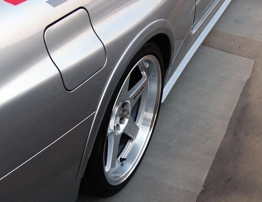 GTR R34 -Nismo G Fender Cover Rear