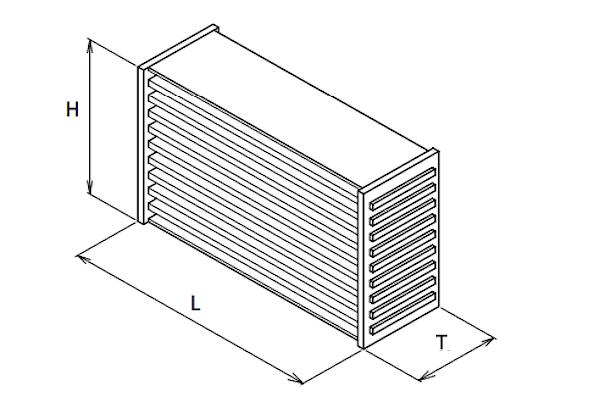 Greddy - Intercooler Core