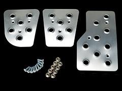 Carbing - Pedal Set - Silver
