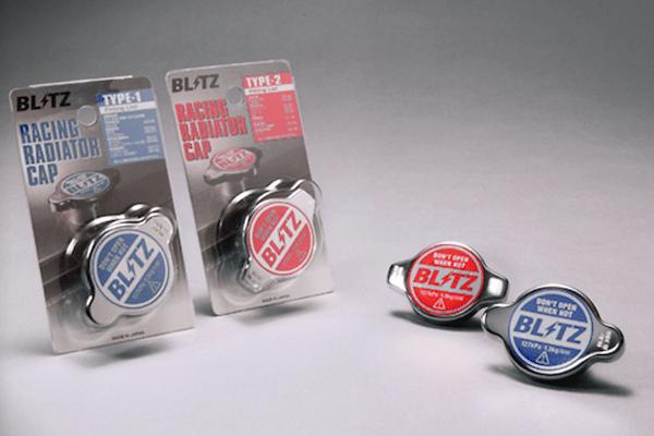 Racing Radiator Cap - Type 1 - Opening Pressure: 127kpa (1.3kg/cm2) - Color: Blue - 18560
