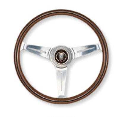 Type: Flat - Material: Wood - Color: Polished Spoke - Diameter: 330mm - N100