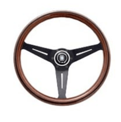 Type: Deep Cone - Material: Wood - Color: Black Spoke - Diameter: 350mm - N771