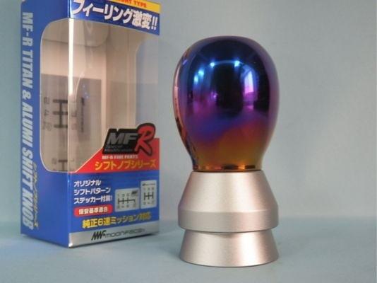 Titanium shift knob Ver.1 - Length: 78mm - Thread: M12 x P1.25 - ONT04O
