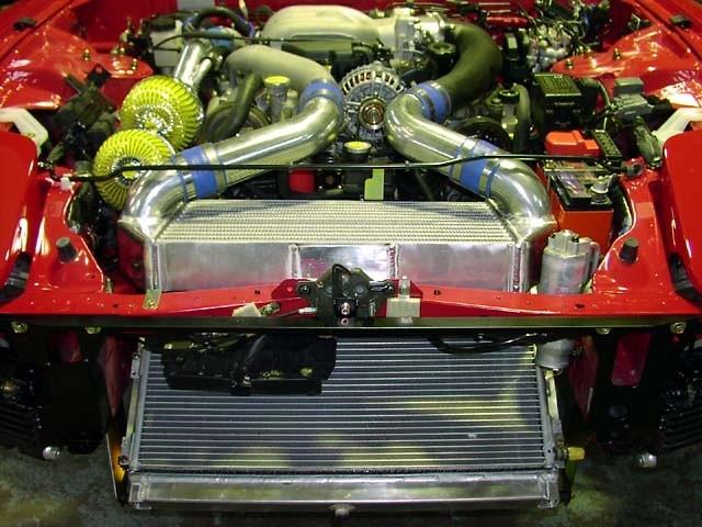 RE Amemiya - V-Mount Intercooler & Radiator