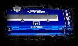 M and M Honda - Blue Head Cover