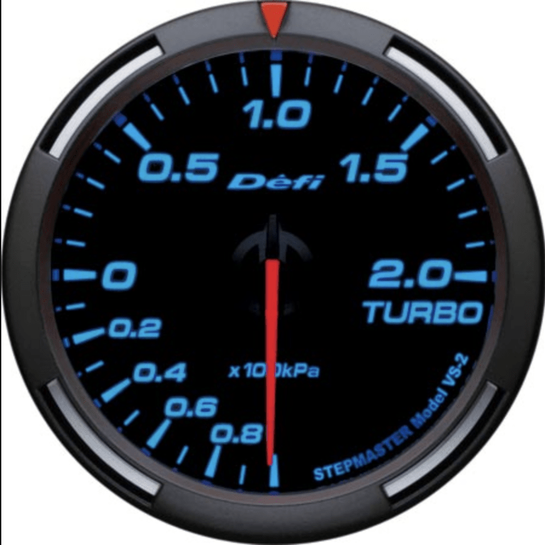 Type: Turbo - Color: Blue - Diameter: 60mm - Range: -100 ~ +200kPa - DF11504