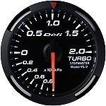 Defi - Racer Gauge - White - Boost