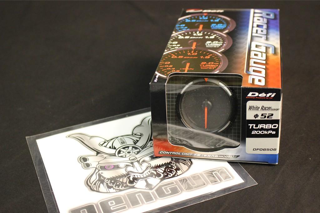 Type: Turbo - Color: White - Diameter: 52mm - Range: -100 ~ +200kPa - DF06506