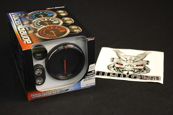 Type: Tachometer - Color: White - Diameter: 80mm - Range: 0 ~ 11000rpm - DF12103