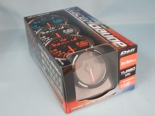 Type: Turbo - Color: Red - Diameter: 52mm - Range: -100 ~ +200kPa - DF06505