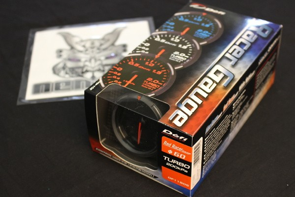 Type: Turbo - Color: Red - Diameter: 60mm - Range: -100 ~ +200kPa - DF11505