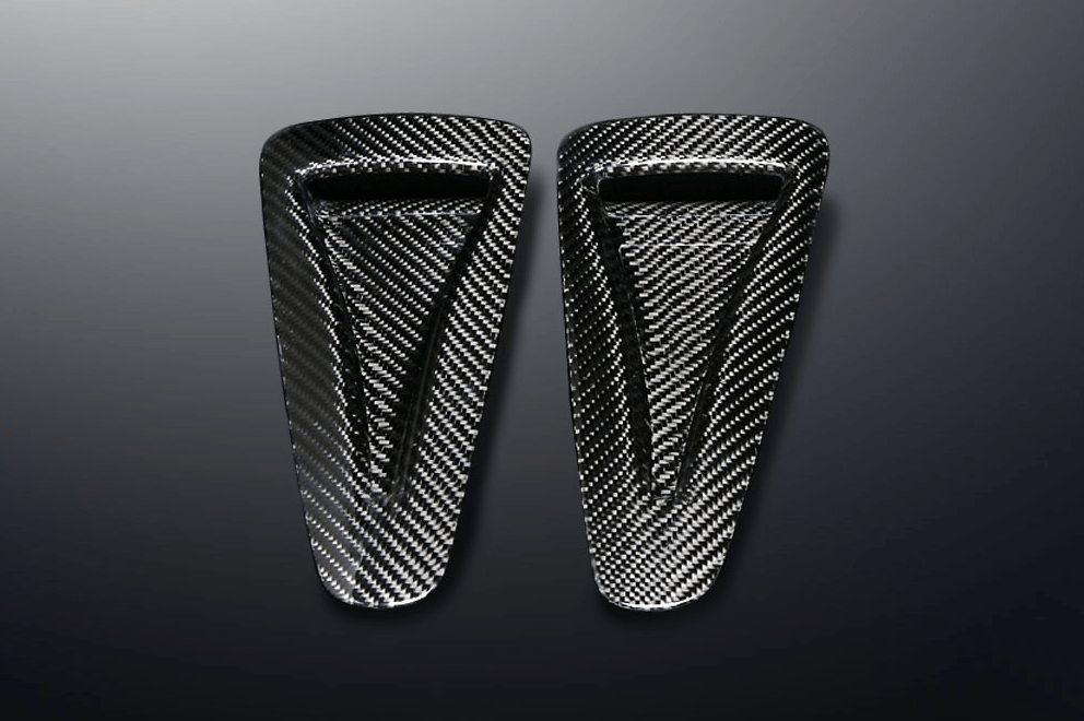 Mines - Carbon Air Intake - Twill Weave