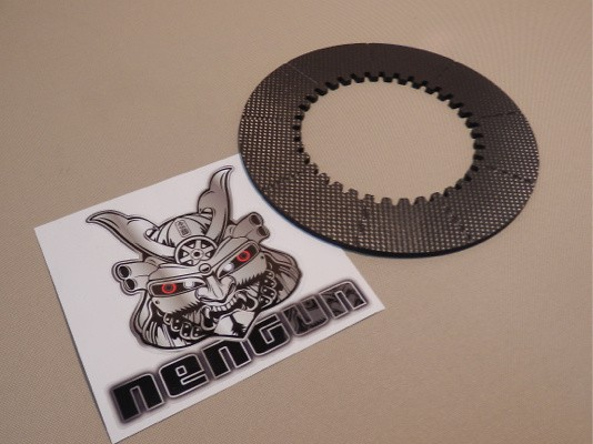 Clutch: Hyper Carbon D - Part Name: Carbon Disc (x1) - DP03