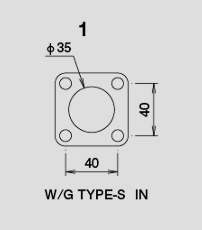 Wastegate Gasket - Type S - In - 11900400