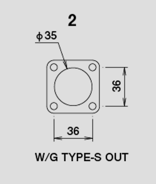 Wastegate Gasket - Type S - Out - 11900401