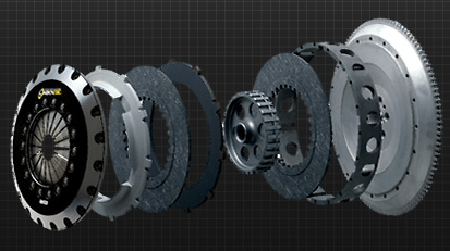Carbonetic - Carbon Clutch - Twin Plate