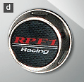 RPF1 (16/17/18 inch), RPF1RS - Inlay Type - Colour: Silver/Carbon Look - Quantity: 1 - CAA49B