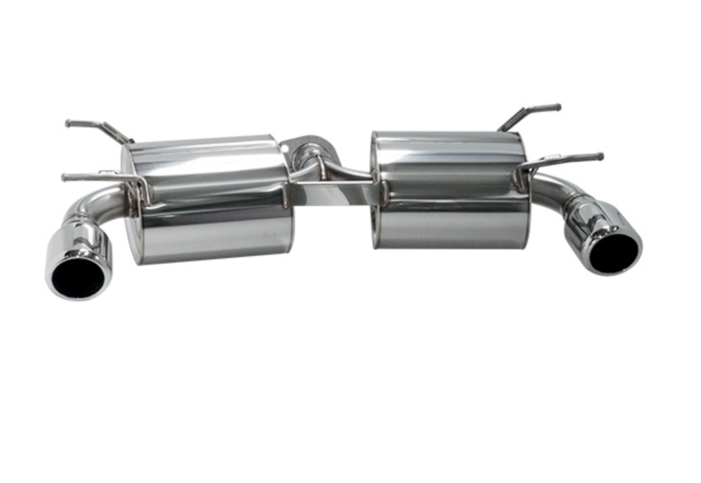Rear Muffler Only - Pieces: 1 - Pipe Size: 2x 60mm - Tail Size: 2x 105mm - 32018-AZ009
