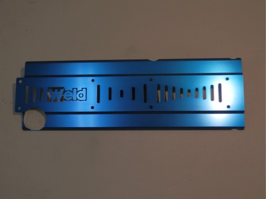 Heat Sink Cover 90 - Toyota - 1JZ-GTE - Material: Aluminum - Colour: Blue - Colour: Gold - Colour: Purple - Colour: Red - Colour: Silver - WHC021