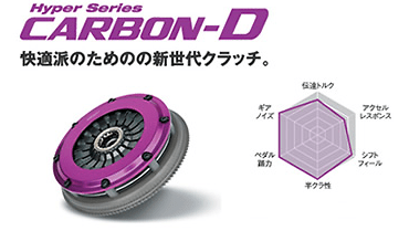 Exedy - Hyper Carbon - Carbon-D - Single Plate Clutch