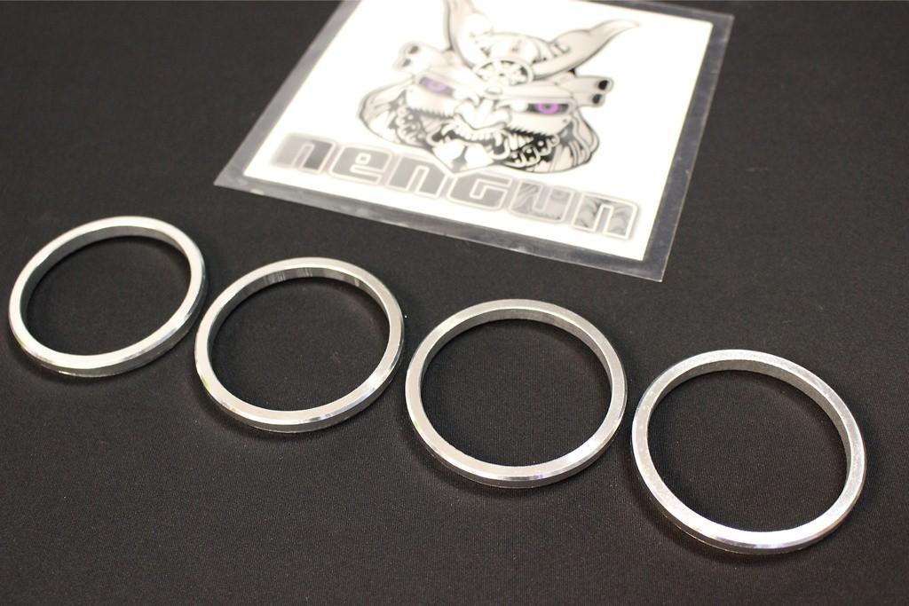 Enkei enkAHR756010A OD 75mm ID 60mm Aluminum Hub Rings