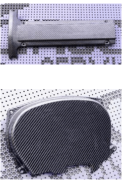 HKS Kansai - Carbon Plug Cover and Timing Belt Cover - Evo 4-8