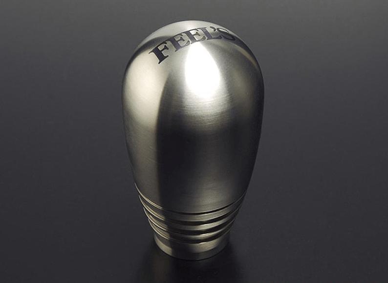 Colour: Titanium - Thread: M10x1.5 - Shift Knob