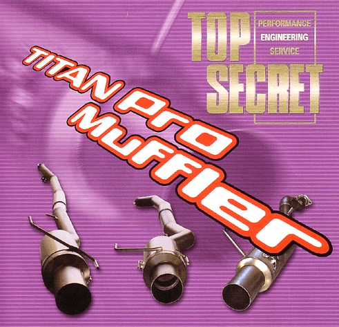 Top Secret - Titan Pro
