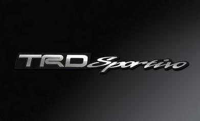 Emblem - TRD Sportivo - Chrome Plated ABS Resin - 08231-SP094