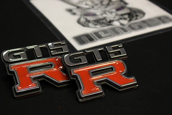 GTS-R Emblem 1 X Front and 1 X Rear - ZZZEM01 Type A