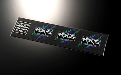 HKS STICKER SUPER RACING - Size: 70 x 65mm (x3) - Colour: - - 51003-AK122