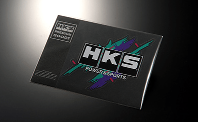 HKS STICKER SUPER RACING LARGE - Size: 150 x 140mm (mount 215 x 155mm) - Colour: - - 51003-AK127