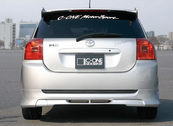 C-One - Rear Under Spoiler with Muffler Cover