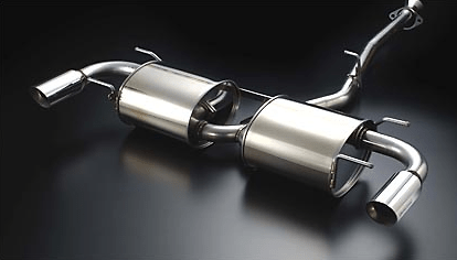 Auto Exe - Stainless Muffler - RX8