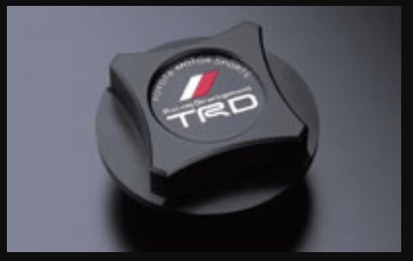 TRD - Oil Filler Cap Resin