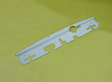 Abflug - Radiator Cooling Plate - Silver Carbon