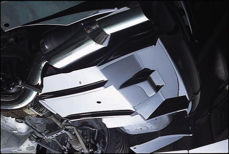 Rear Under Diffuser - Construction: FRP - Colour: Unpainted - 20513