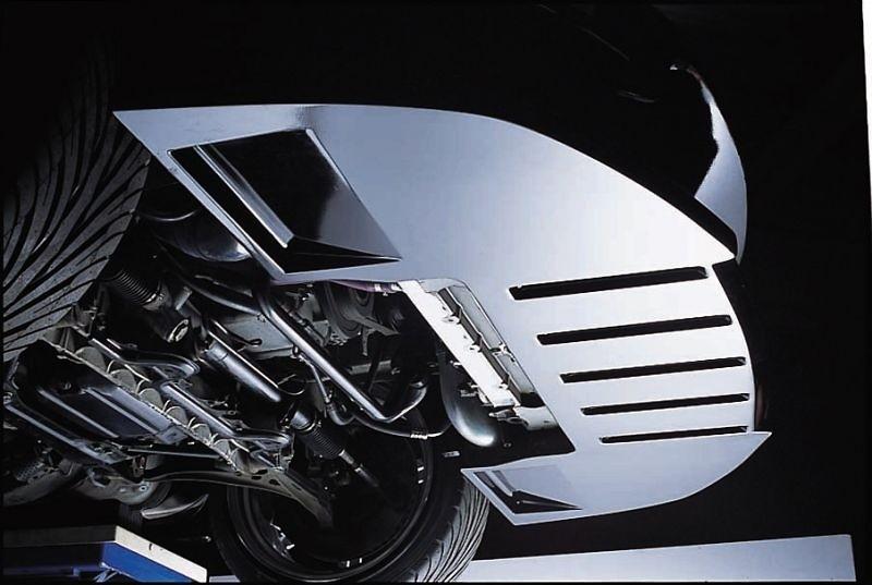 Front Bumper Spoiler - Construction: FRP - Colour: Unpainted - 20510