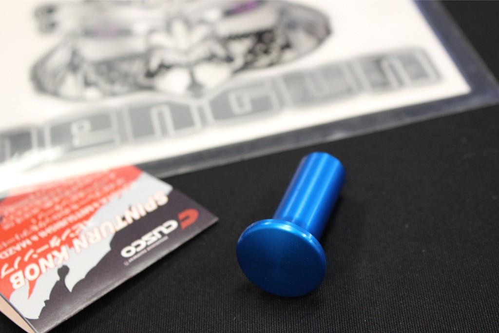 Color: Blue - Material: Aluminium - 00B 014 AL