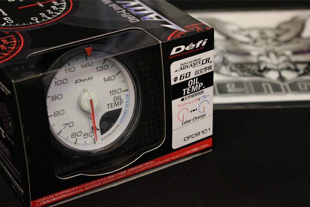 Type: Oil Temperature - Color: White - Diameter: 60mm - Range: 50 ~ 150C - DF09101