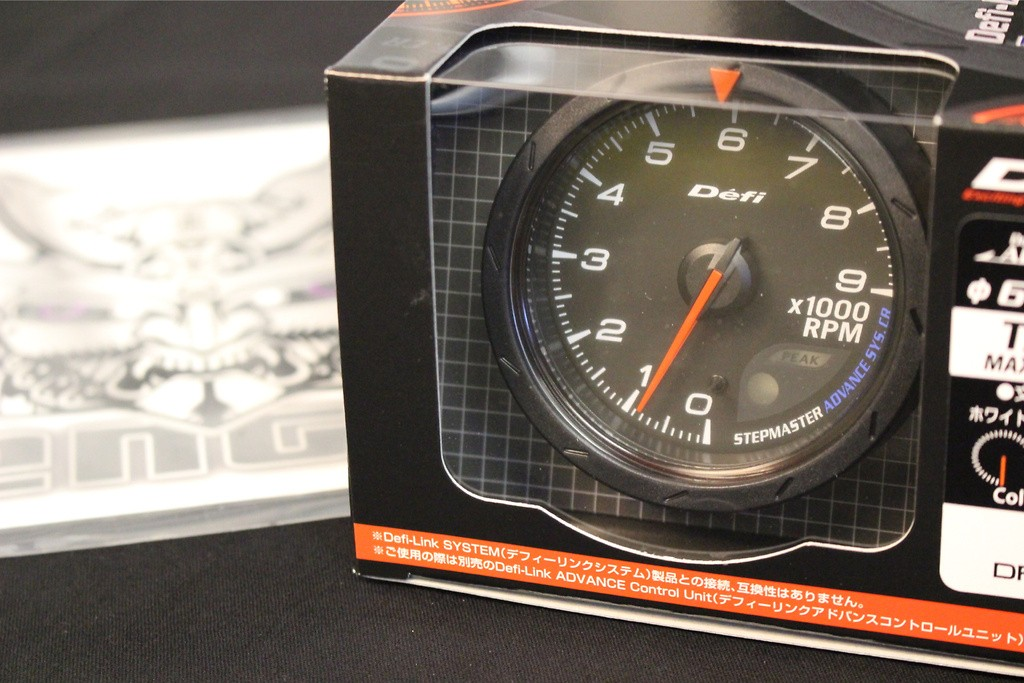 Type: Tachometer - Color: Black - Diameter: 60mm - Range: 0 ~ 9000rpm - DF09404