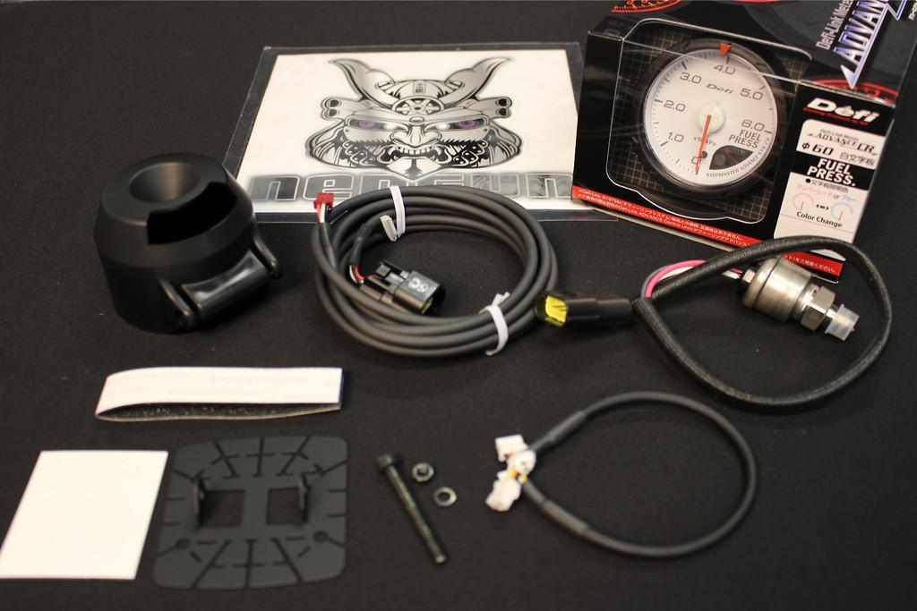 Type: Fuel Pressure - Color: White - Diameter: 60mm - Range: 0 ~ 600kPa - DF09001