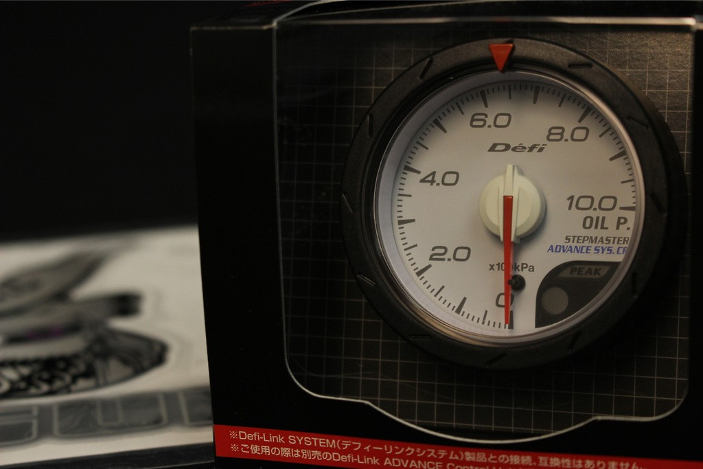 Type: Oil Pressure - Color: White - Diameter: 52mm - Range: 0 ~ 1000kPa - DF08101