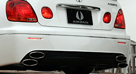 Aristo - VIP Style - Anniversary - Rear Bumper - Red LED